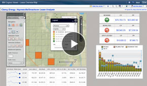Location Analytics - Esri Maps for IBM Cognos - Oil